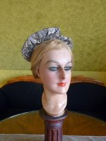 13 antique victorian bonnet 1895