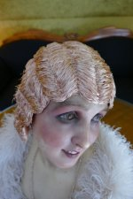 16 antique hair cloche 1920