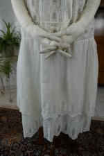 5antique tea gown 1926