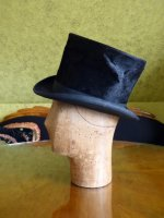 5 antique milliner wooden head