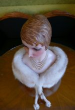 7 antique wax Bust 1920