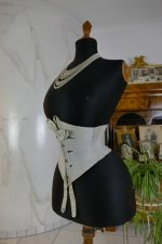 8 antique summer corset 1895