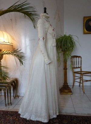 antique wedding dress 1910