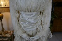 5 antique wedding dress Barcelona 1908