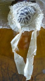 14 antique wedding bonnet 1850