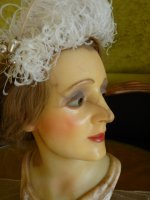 3 antique wax mannequin 1920