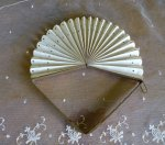 3 antique cockade fan 1908