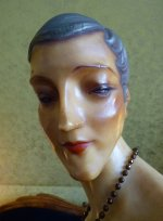 10 antique wax mannequin 1920