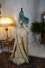 37 antique evening gown 1895