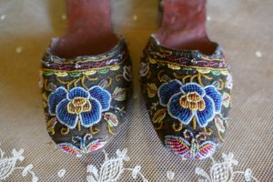 antique slippers 1870