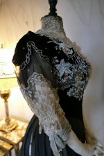 55 antique Gustave Beer gown 1906