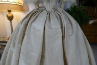 32 antique ball gown 1859