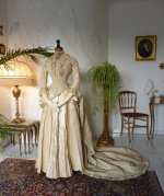 2 antique wedding gown 1877