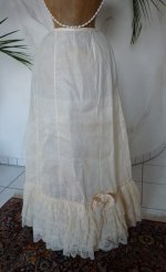 2 antique petticoat