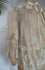 6 antique bed jacket