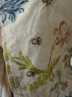 101 antique silk jacket 1750