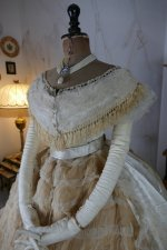 11 antique ball gown 1864