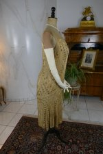 30 antique beaded flapper evening dress 1922