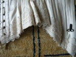 38 antique wedding corset 1880