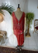 21 antique flapper dress Worth 1920