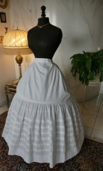 2 antique petticoat 1862