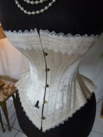 12 antique wedding corset 1880