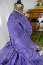 21 antique crinoline dress 1860
