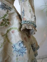 11 antique silk jacket 1750