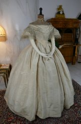 antique ball gown 1859