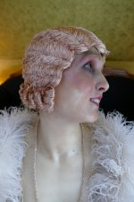 18 antique hair cloche 1920