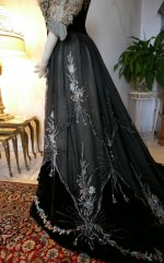 31 antique Gustave Beer gown 1906