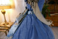 49 antique ball gown 1864