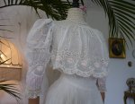 6 antique tea gown