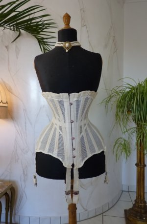 antique summer corset 1890