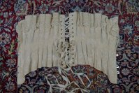 22 antique silk corset 1901