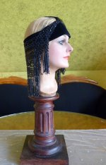 18 antique flapper headpice 1920