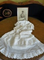 23 antique christening gown