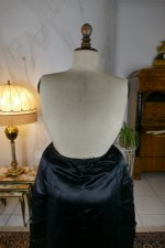 44 antique Pingat bustle dress 1880