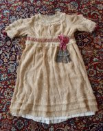 28 antique girls dress 1905