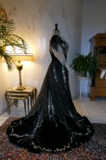 52 antique Gustave Beer gown 1906