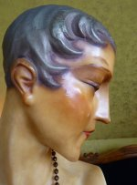 34 antique wax mannequin 1920