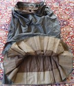 104 antique bustle day dress 1875