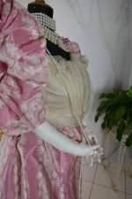 30 antique ball gown 1895