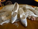 35 antique wedding shoes