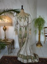 42 antique recpetion gown 1904