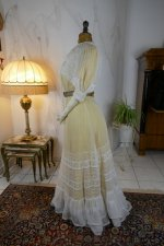 19 antique tea gown 1903