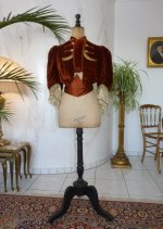 8 antique walking jacket