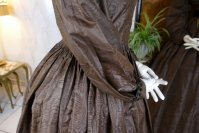 49 antique afternoon dress 1840