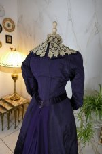 18 antique Madame Percy Visiting gown 1898