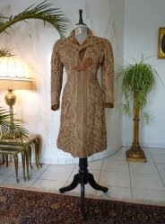 antique battenburg lace coat 1906